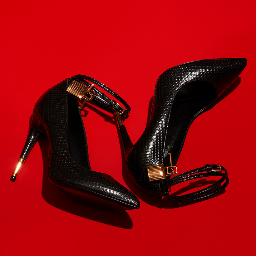 tom ford heels still life product photography london paris