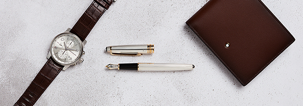 commercial still life photography london flat lay montblanc