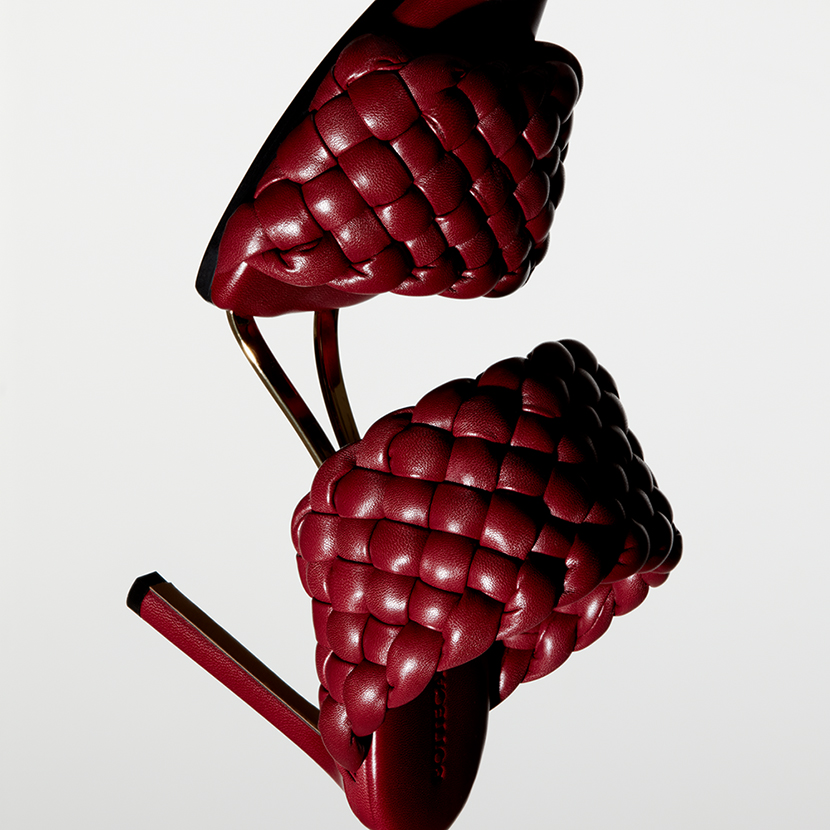 bottega veneta shoe product photography
